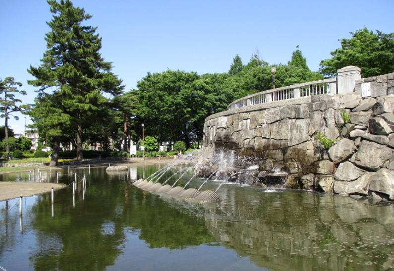 相模原中央公園噴水