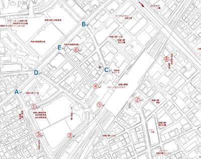 相模大野駅周辺地図