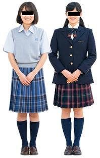 駒沢学園女子中学制服