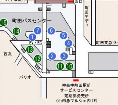 町田駅バスセンター詳細
