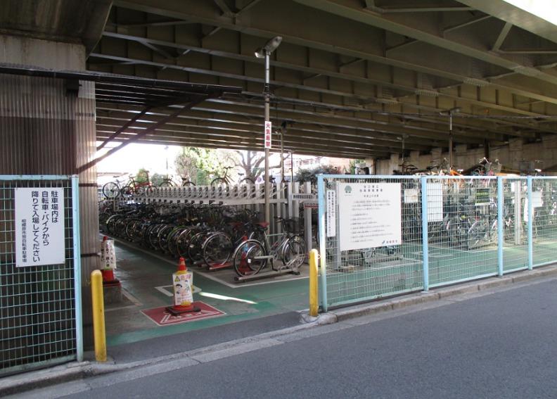 谷口自転車駐輪場