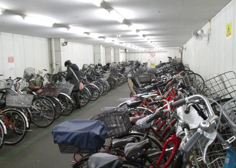 オダクル第一駐輪場