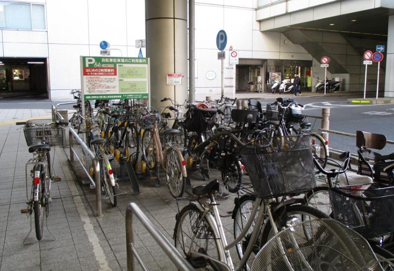 相模大野北口路上第2自転車駐輪場
