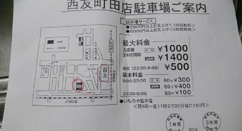 町田西友駐車場