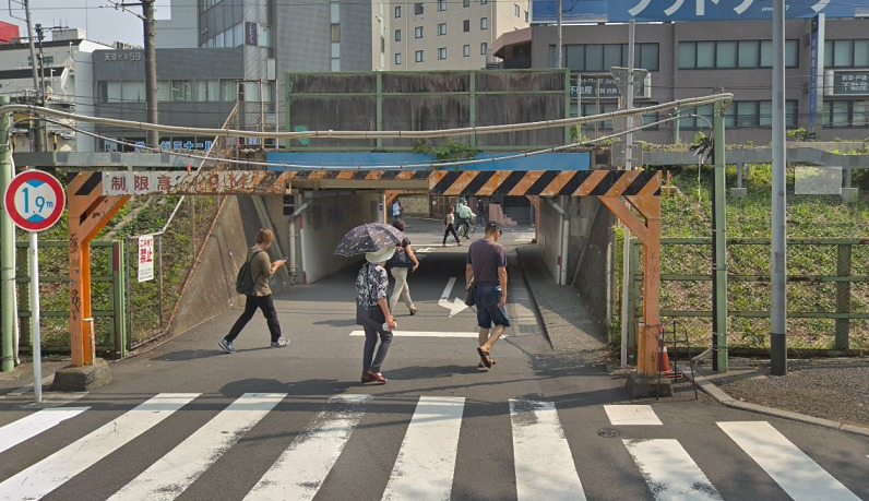 横浜線高架下