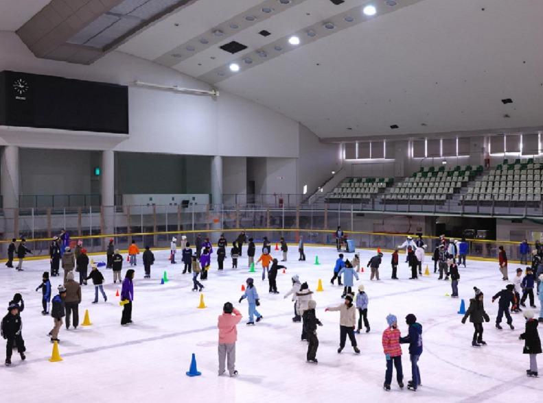 銀河アリーナスケート教室①