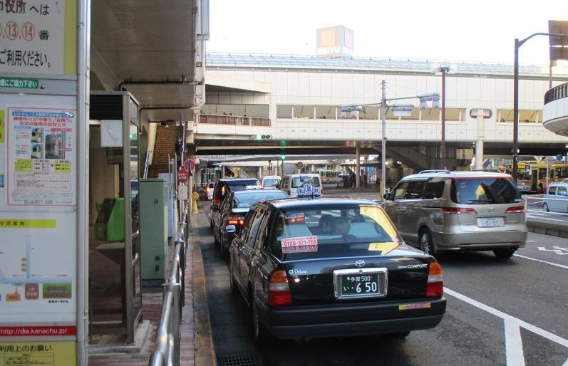 町田駅タクシー・丸井前②