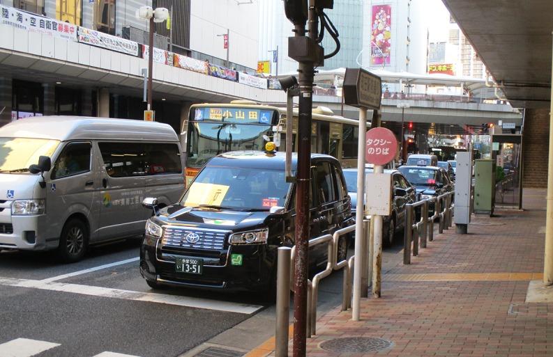 町田駅タクシー乗り場・丸井前①