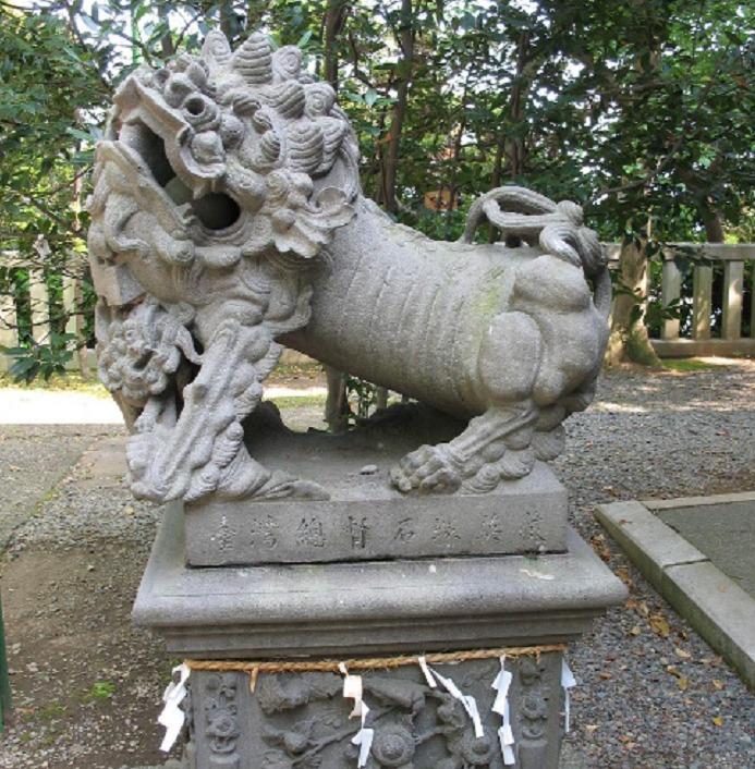 児玉神社・狛犬