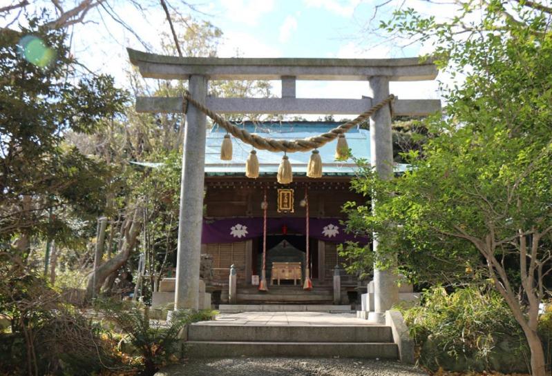 解体前の児玉神社