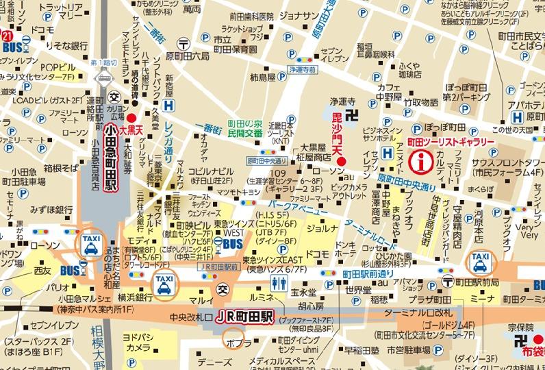 町田駅周辺・タクシー乗り場