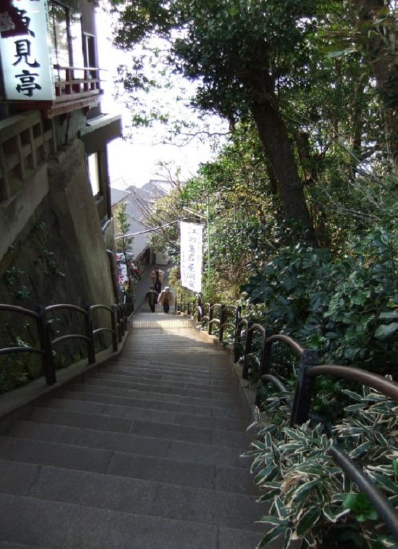 魚見亭階段
